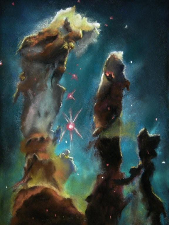 Space Pillars