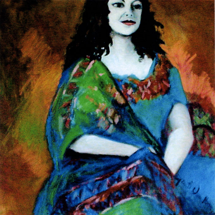 Carmelita - Oil on Canvas by Joyce Van Horn