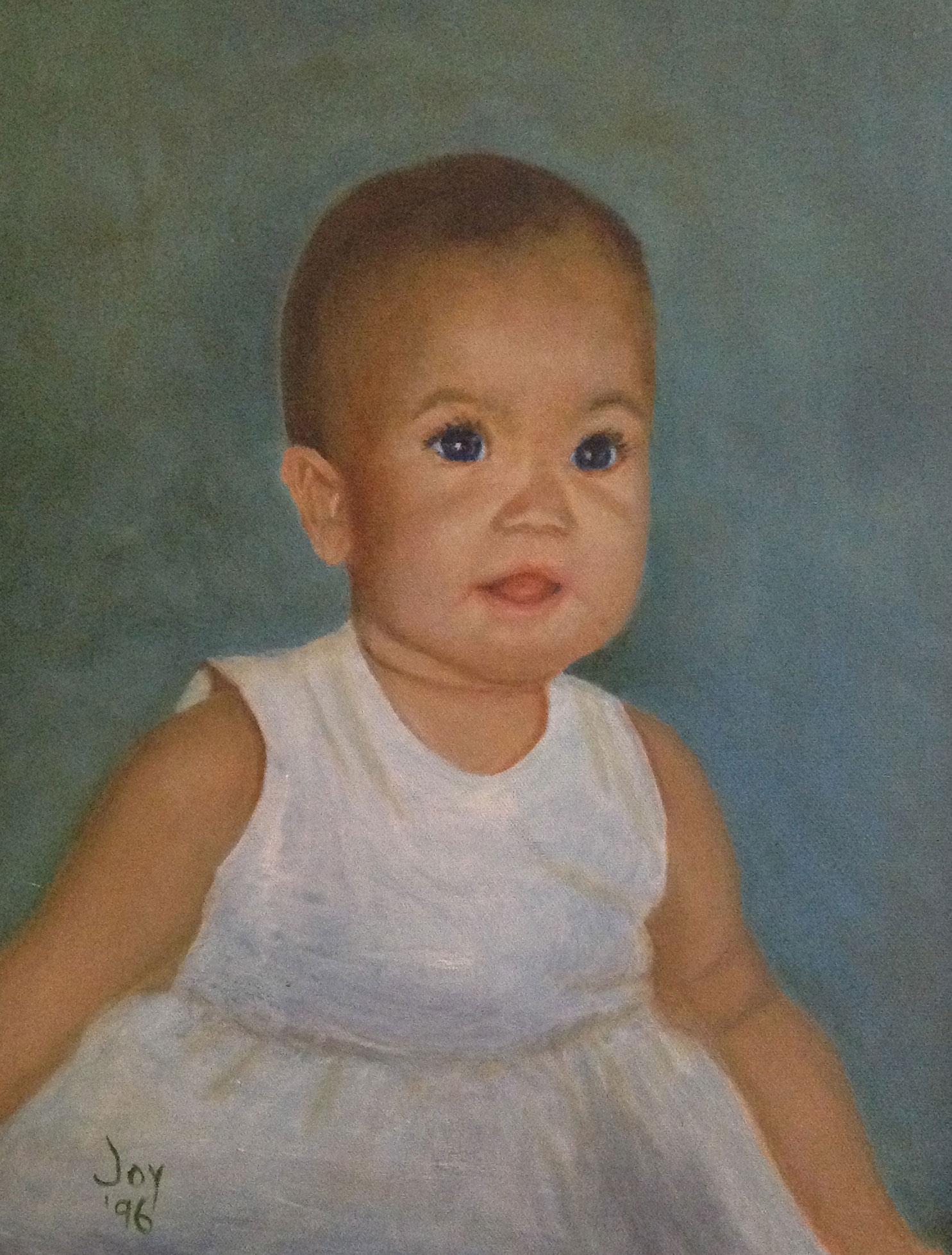 Baby Monica By Joyce Van Horn