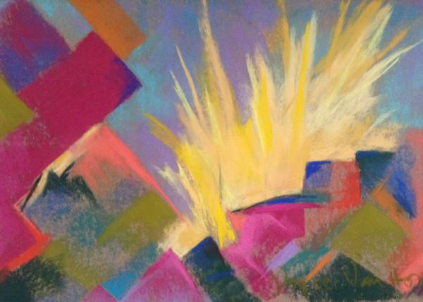 Emergence - Pastel 24x36