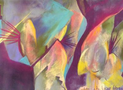 Floating - Pastel 24 x 36