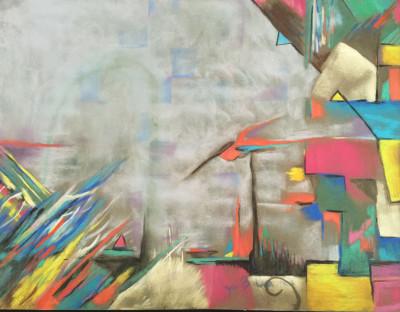 Ascendance - Pastel 24x36