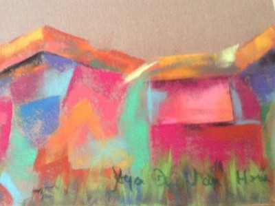 pastel Gulfport bungalow artist Joyce Van Horn
